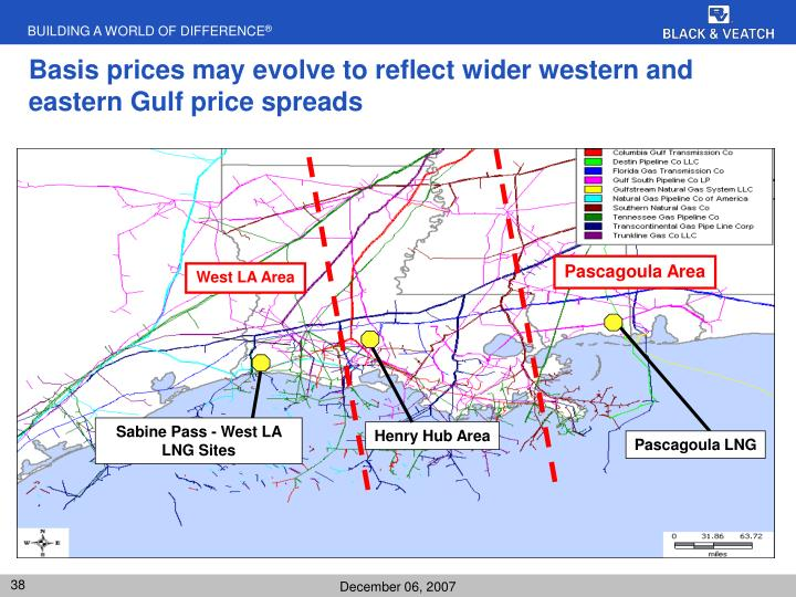Basis prices may evolve to reflect wider western and eastern Gulf price spreads