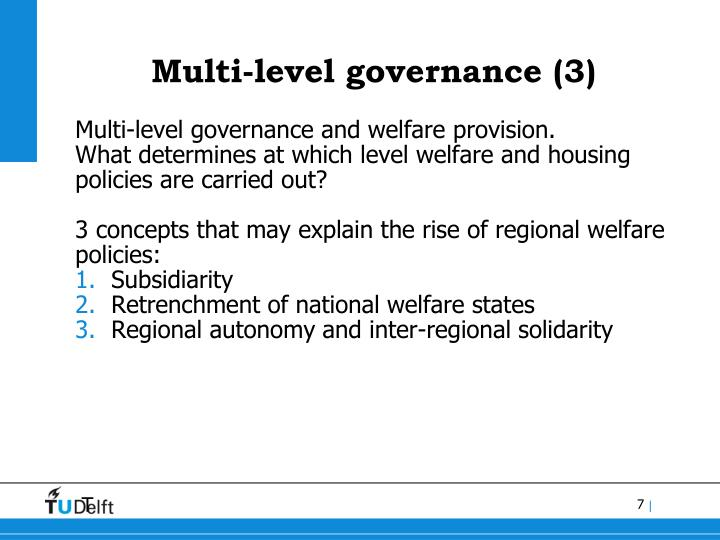 Multi-level governance (3)