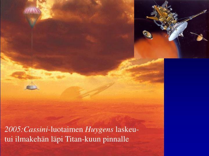 2005:Cassini