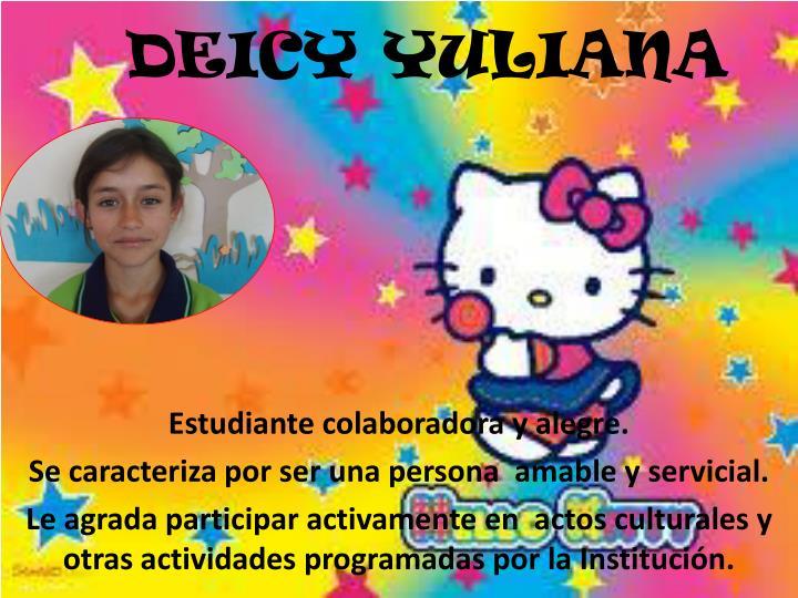 DEICY YULIANA