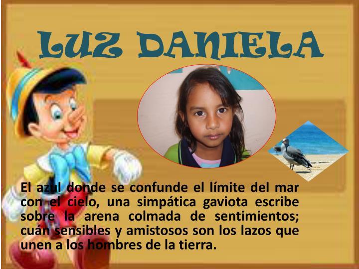LUZ DANIELA
