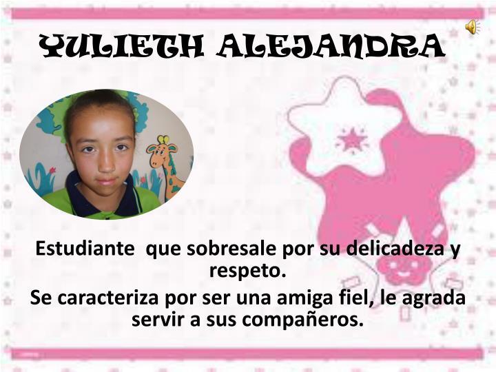 YULIETH ALEJANDRA