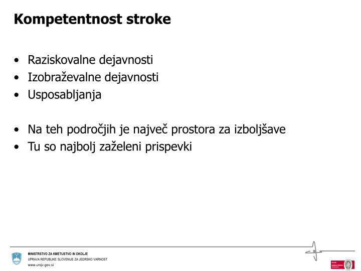 Kompetentnost stroke
