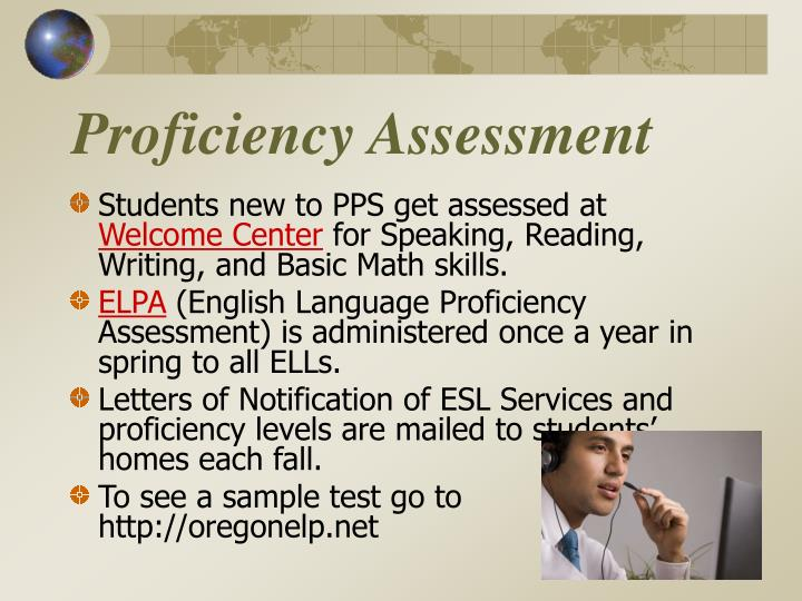 Proficiency Assessment