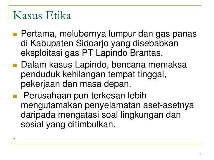Kasus Etika
