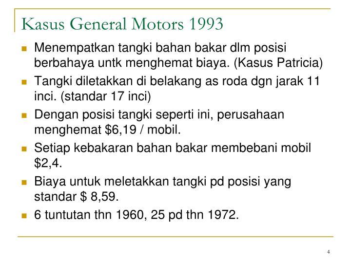 Kasus General Motors 1993