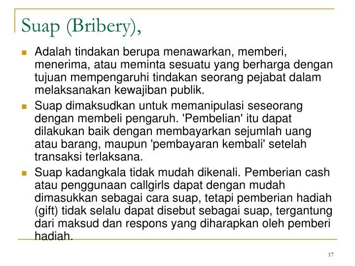 Suap (Bribery),