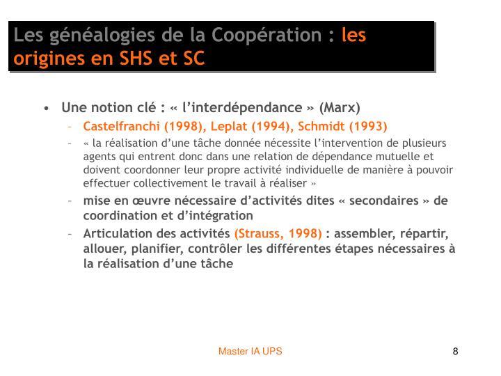 Les généalogies de la Coopération :