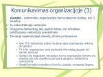 komunikavimas organizacijoje 3
