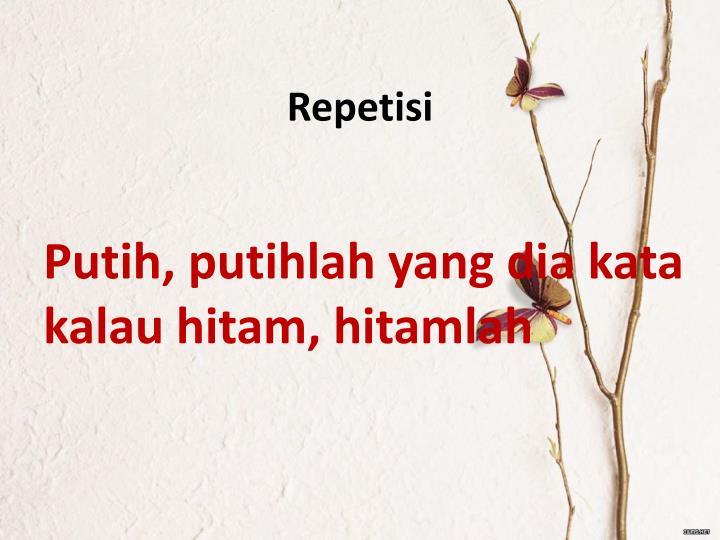Repetisi