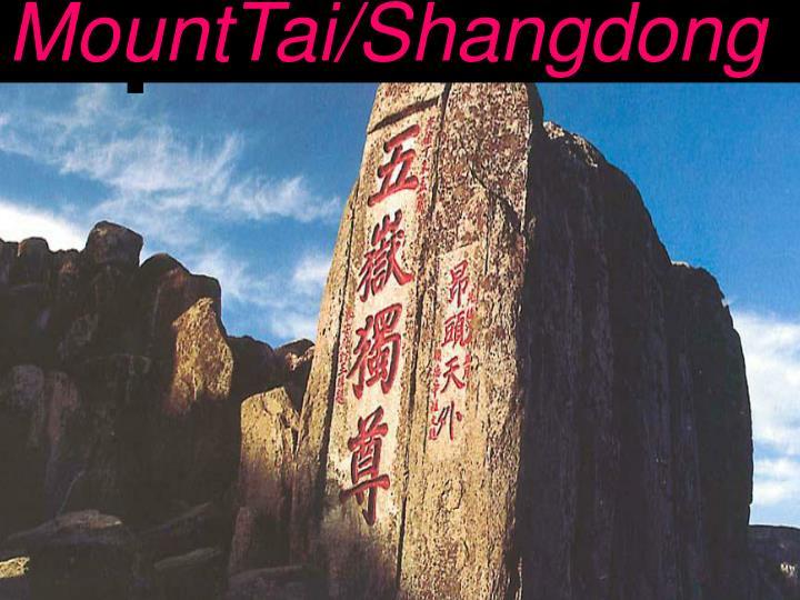 MountTai/Shangdong
