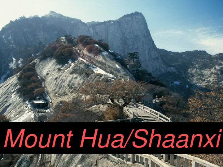 Mount Hua/Shaanxi