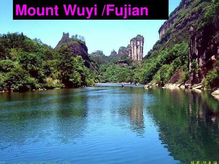 Mount Wuyi /Fujian