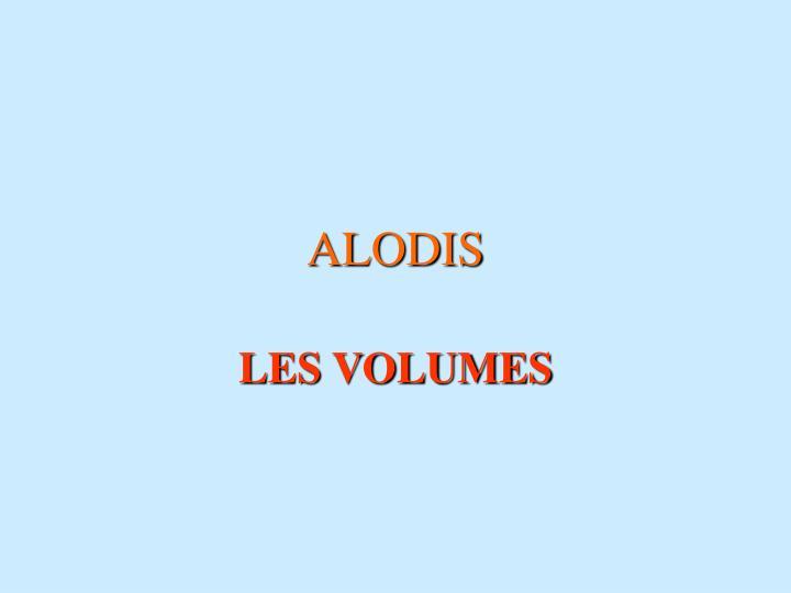 ALODIS