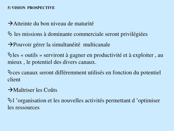 5) VISION  PROSPECTIVE