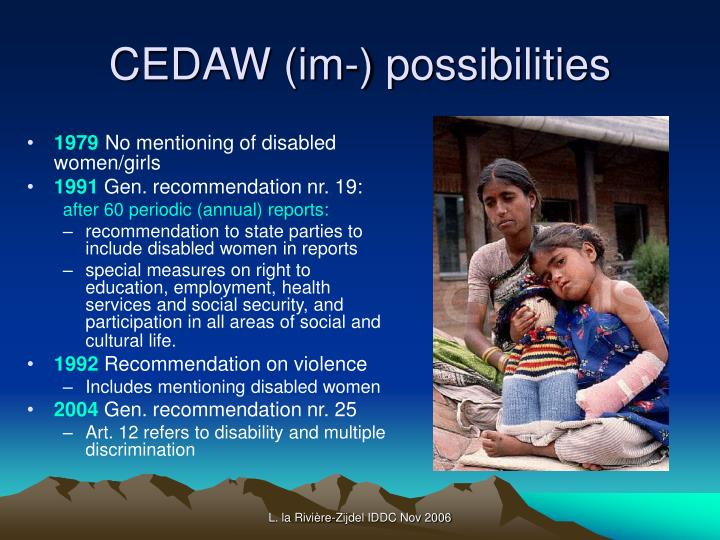 CEDAW (im-) possibilities
