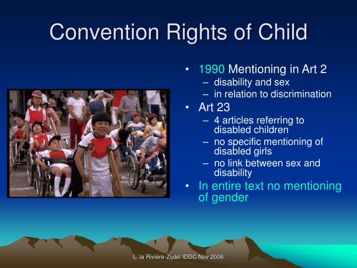 Convention Rights of Child