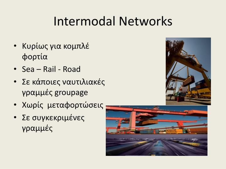 Intermodal Networks