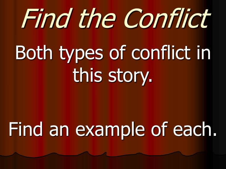Find the Conflict