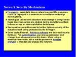 network security mechanisms1