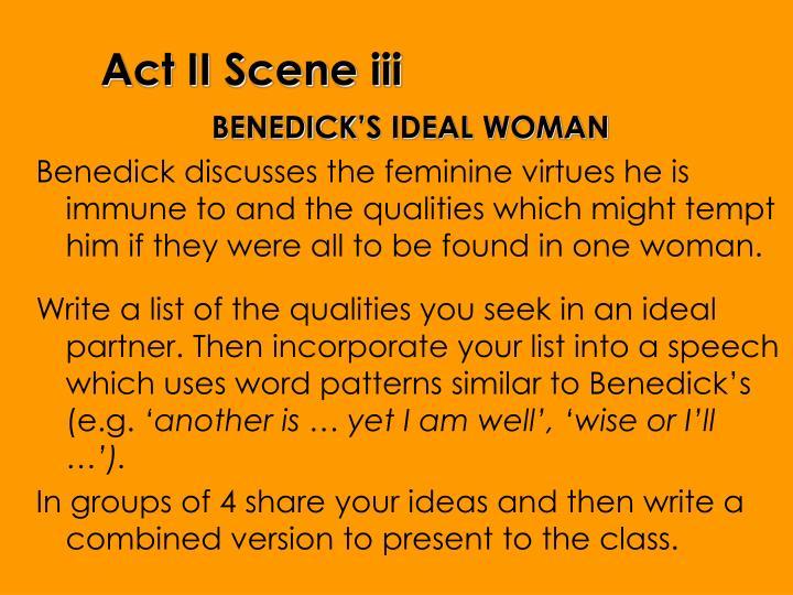 Act II Scene iii