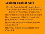 looking back at act i2