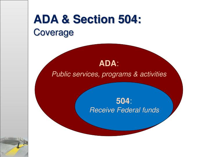 ADA & Section 504: