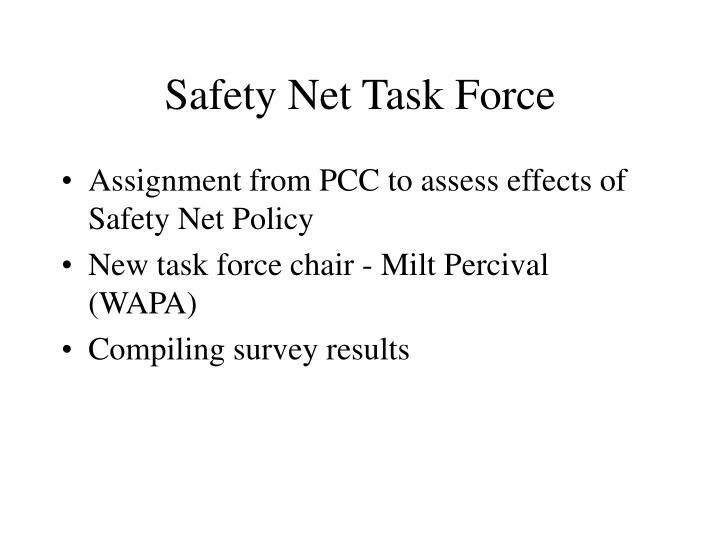 Safety Net Task Force