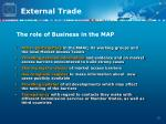 the role of business in the map