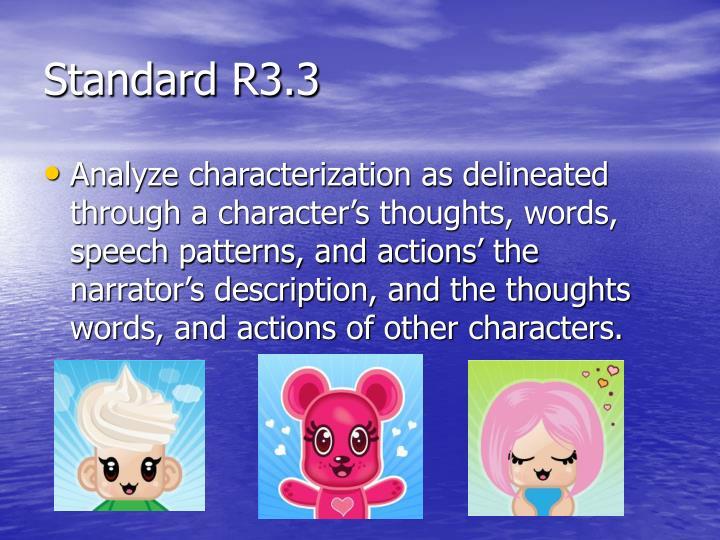 Standard R3.3