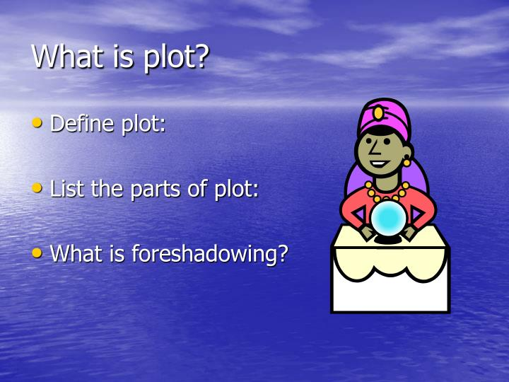 What is plot?