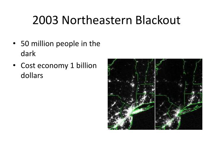 2003 Northeastern Blackout