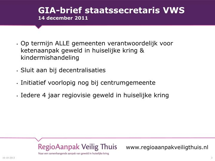 GIA-brief