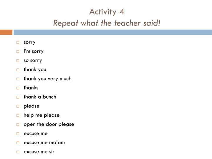 Activity 4
