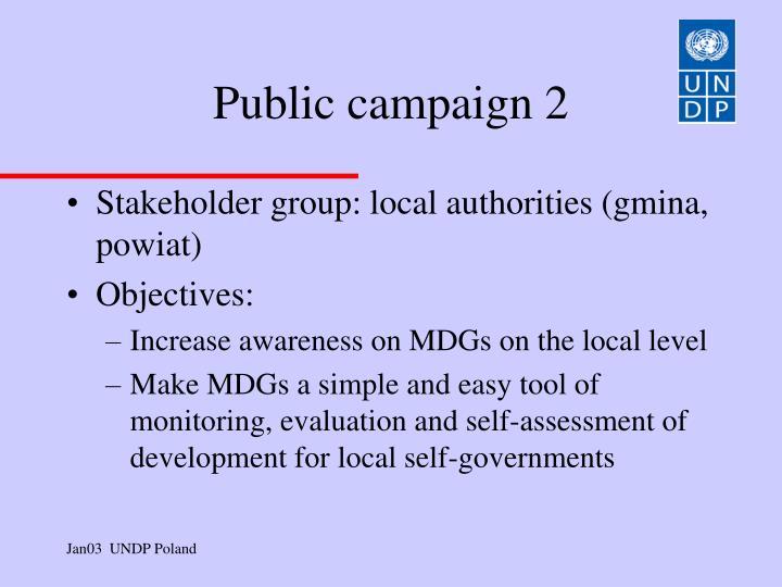 Public campaign 2