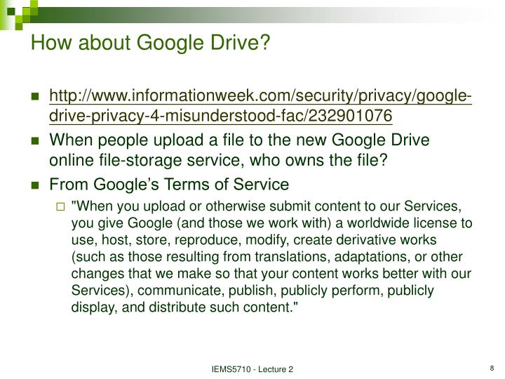 How about Google Drive?