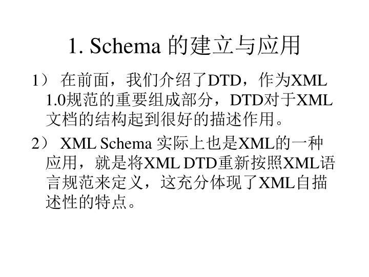 1. Schema