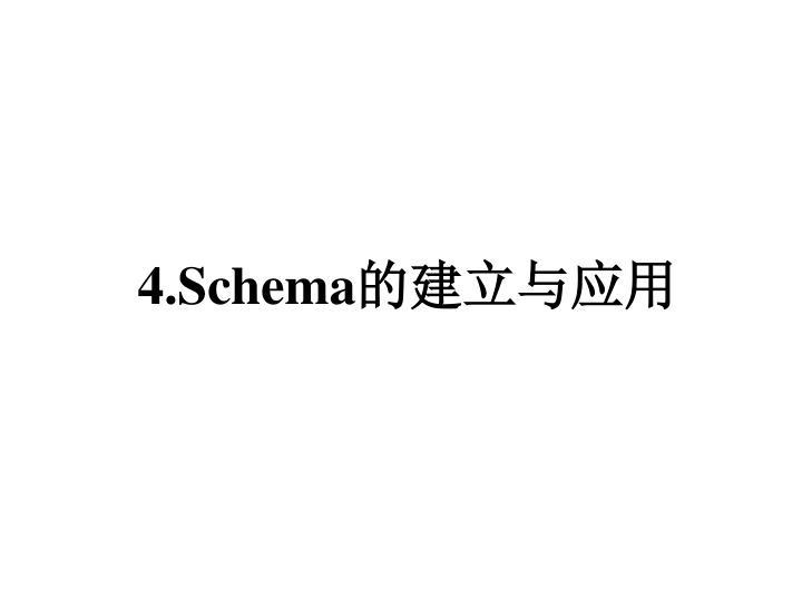 4.Schema