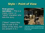 style point of view3