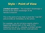 style point of view4