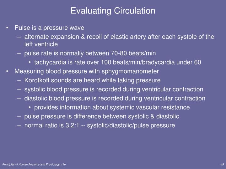 Evaluating Circulation