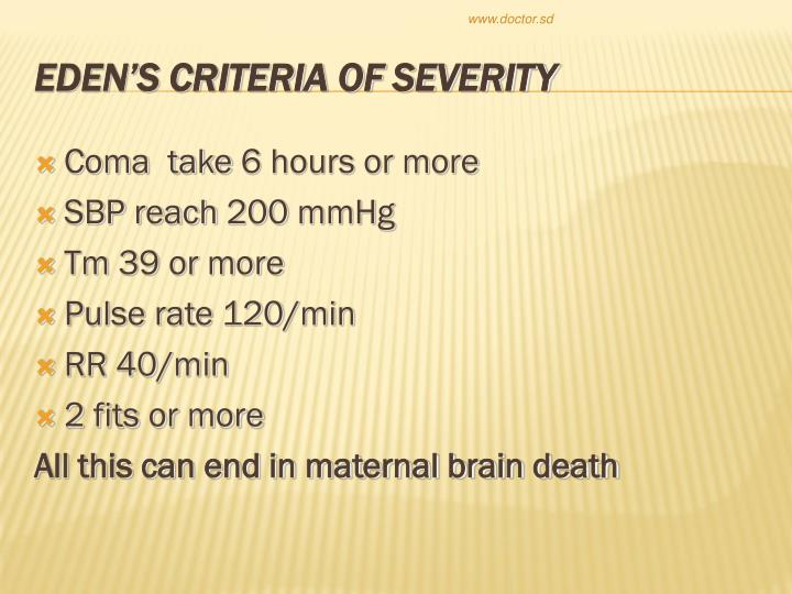 Coma  take 6 hours or more