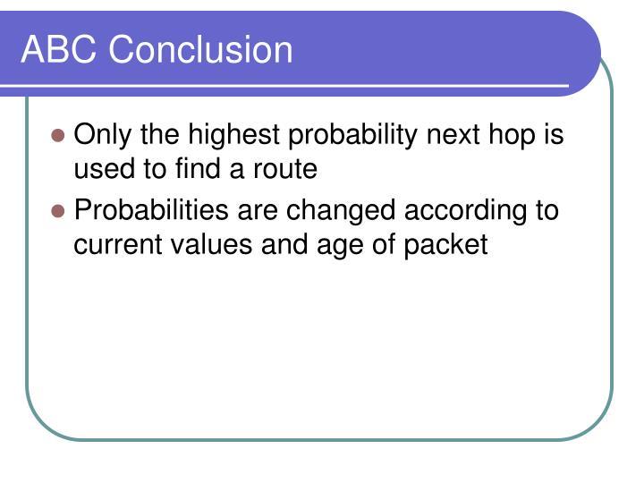 ABC Conclusion