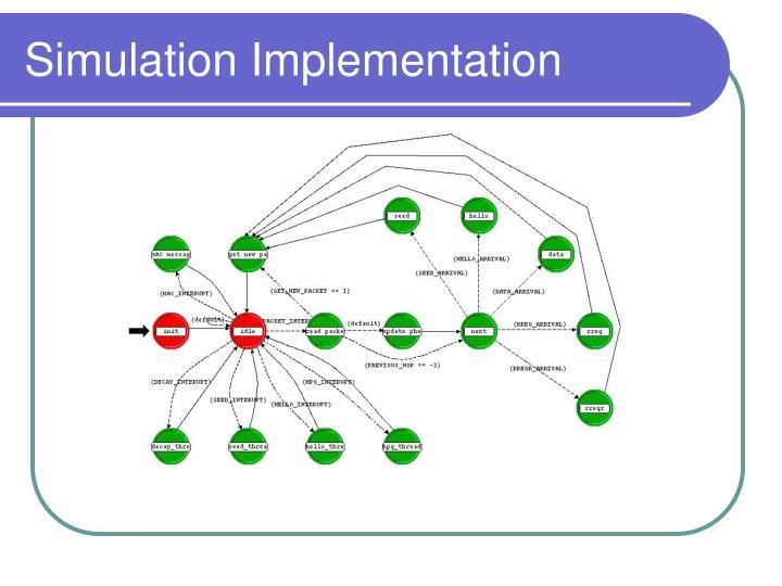 Simulation Implementation