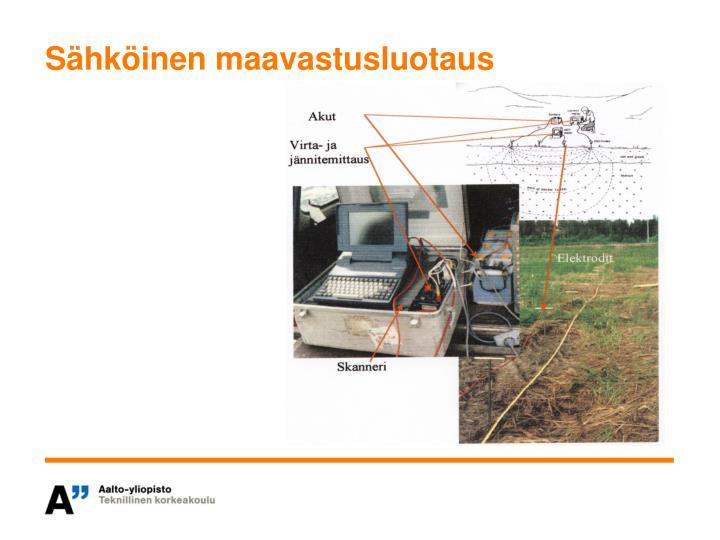 Sähköinen maavastusluotaus