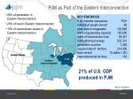 pjm as part of the eastern interconnection