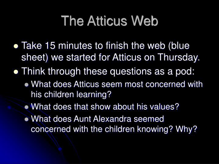 The Atticus Web