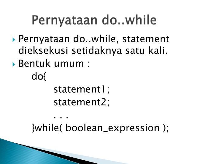Pernyataan