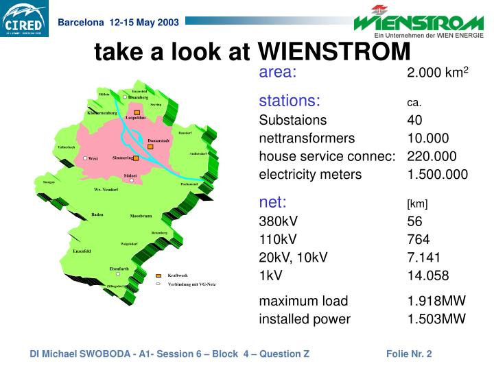 Take a look at wienstrom