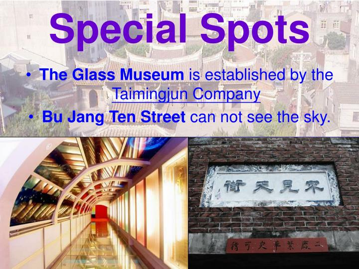 Special Spots